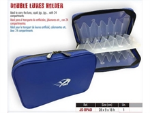 YUKI DOUBLE LURE SQUID FISHING BOX 28 x 9 x 18cm