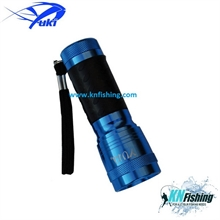 YUKI ULTRAVIOLET UV FISHING TORCH BLUE LIGHT 14 LEDS