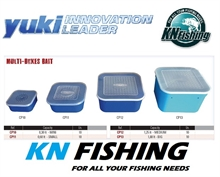 YUKI PLASTIC FISHING BAIT BOX SIZE SMALL 0.6L