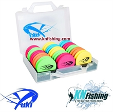 YUKI FISHING BOX WITH 15 RIG WINDERS INCLUDED