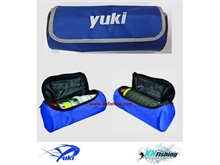 YUKI BOPB SPOOLS BAG LINE STORAGE BOX FISHING 30cm x 12.5cm