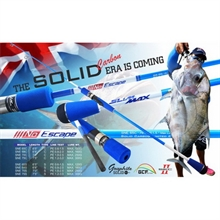 LEMAX NO ESCAPE SNE 68S SOLID SLOW JIGGING BOAT ROD 160gr