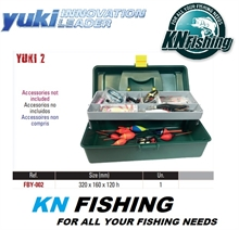 YUKI SINGLE 02 FISHING TACKLE BOX 32 x 16 x 12cm