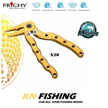 FRICHY X-20 MINI KIWI ALUMINIUM FISHING PLIERS TOOLS FISHING