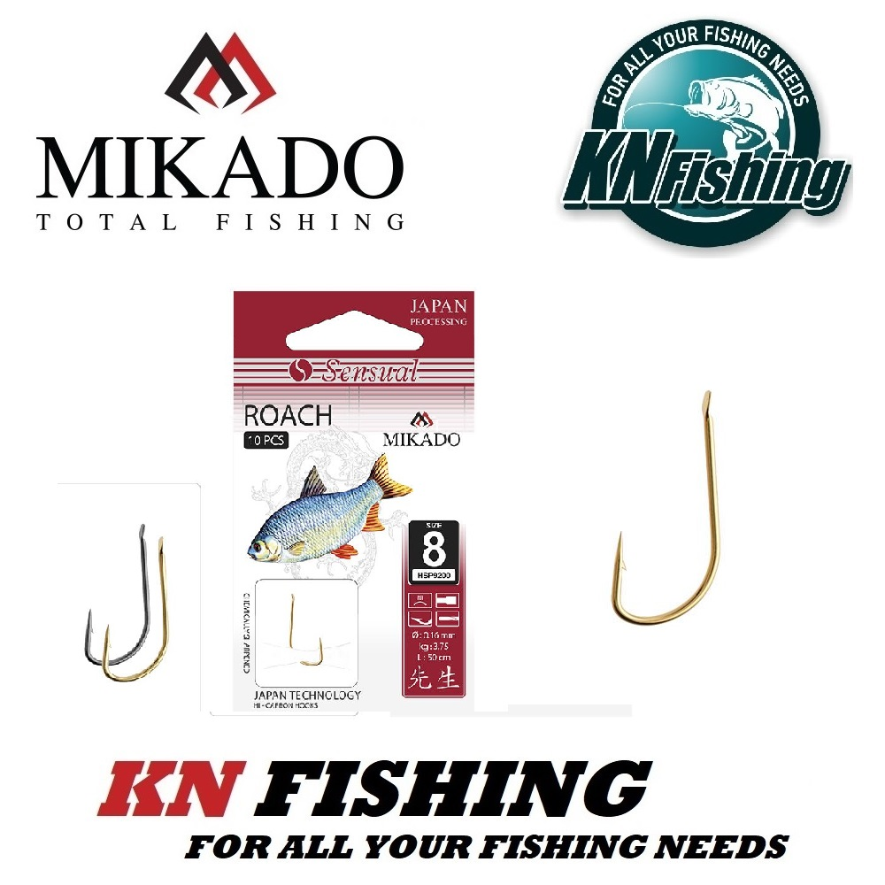 MIKADO SENSUAL ROACH READY HOOK GOLD pcs10
