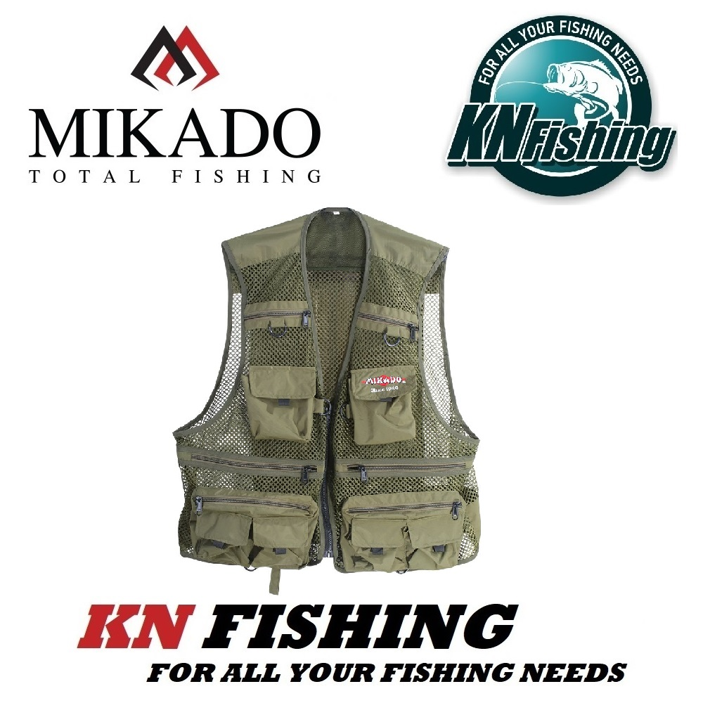 MIKADO VEST UMK-A01 FISHING JACKET SIZE MEDIUM