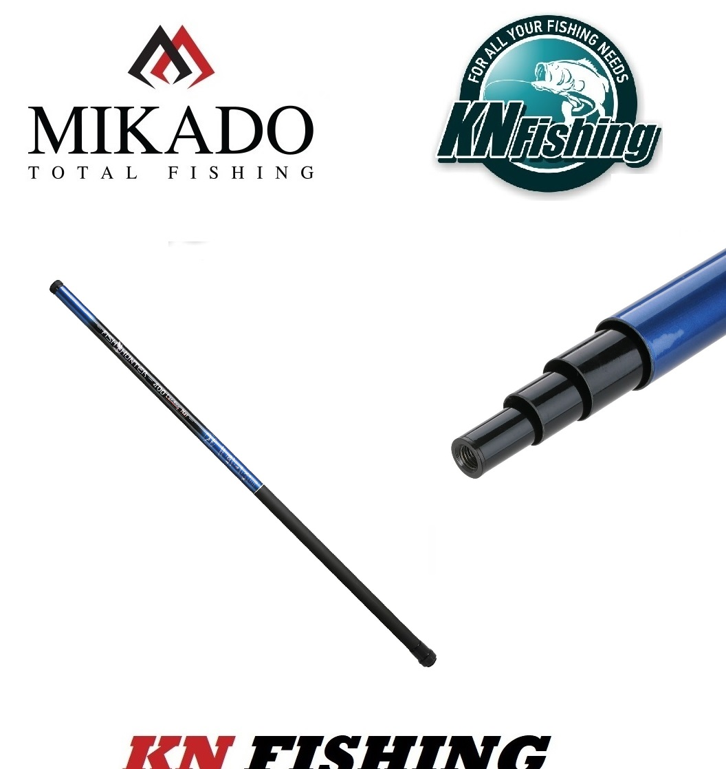 MIKADO FISH HUNDER LANDING NET HANDLE 3m