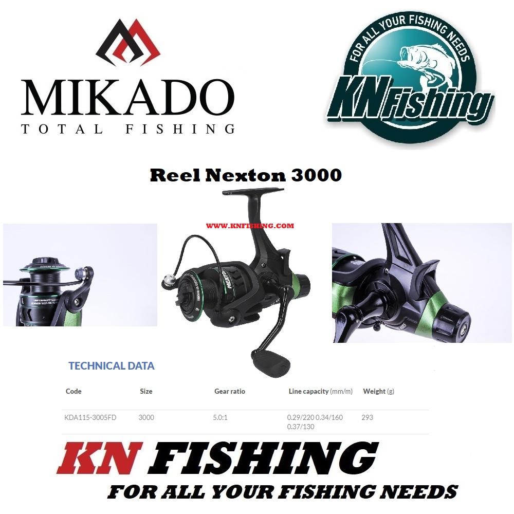 MIKADO NEXTON 3005FD BAITRUNNER FISHING REEL