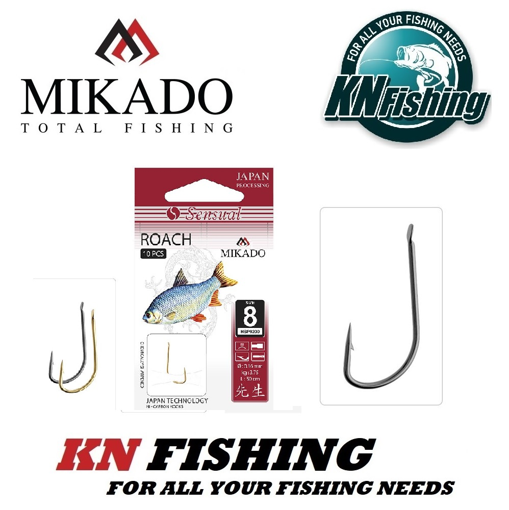 MIKADO SENSUAL ROACH READY HOOK NICKEL pcs10