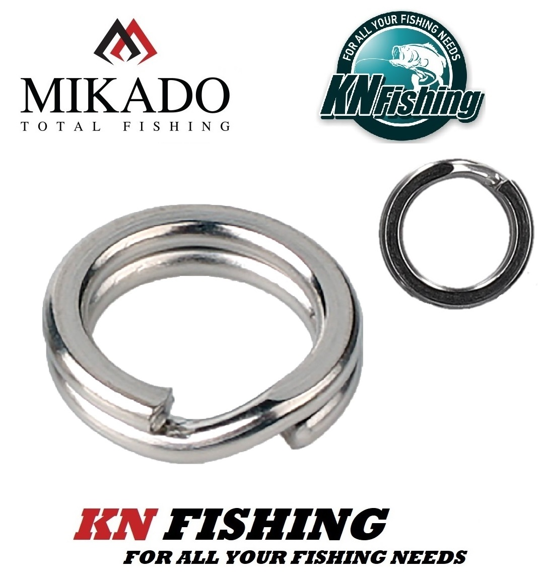 MIKADO SPLIT RING VERY HARD NICKEL 5 pcs