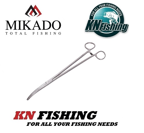 MIKADO UNHOOKING FISHING PLIERS CURVED 5 - 6