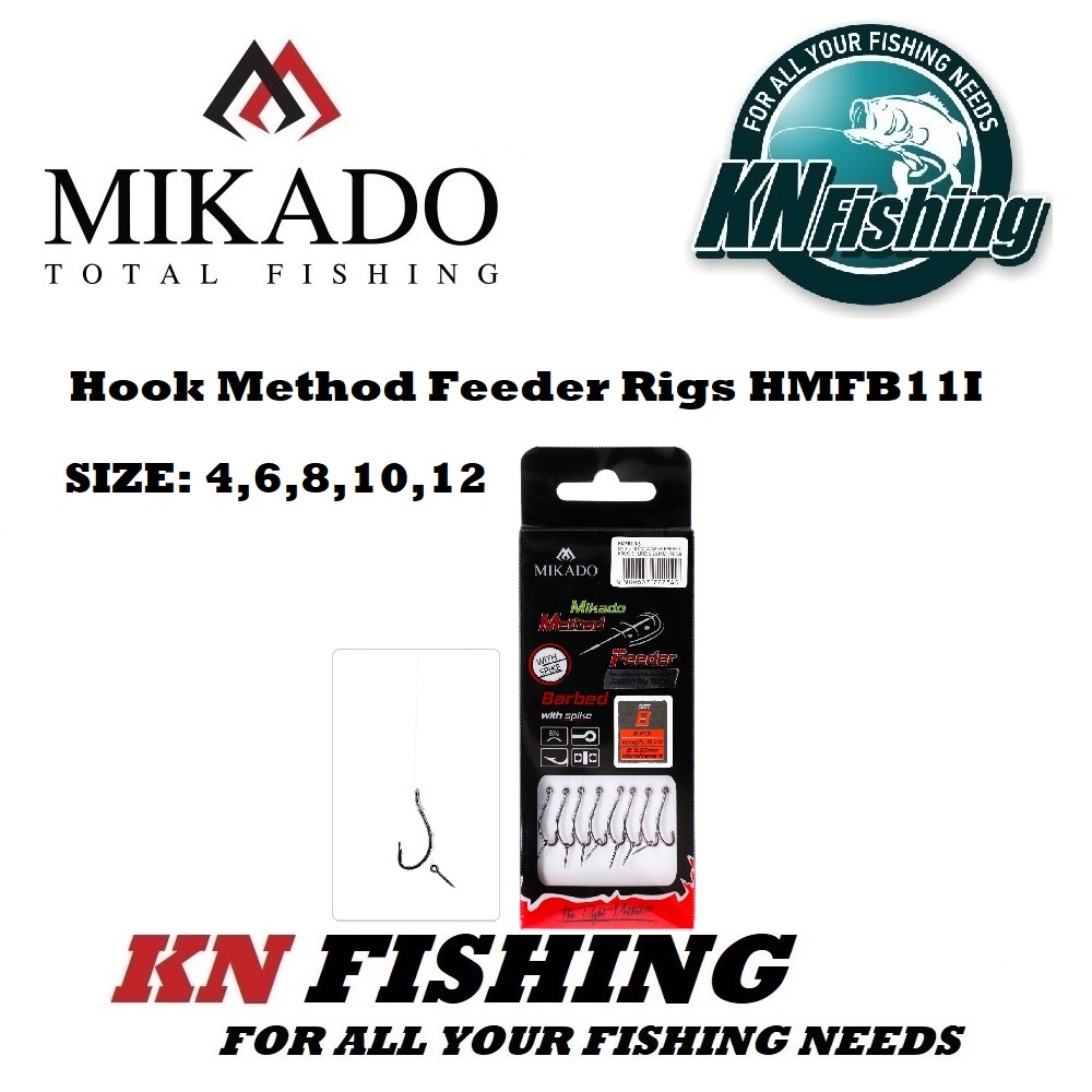MIKADO HMFB11I METHOD FEEDER RIG 10 cm W/SPIKE PCS8 LINE