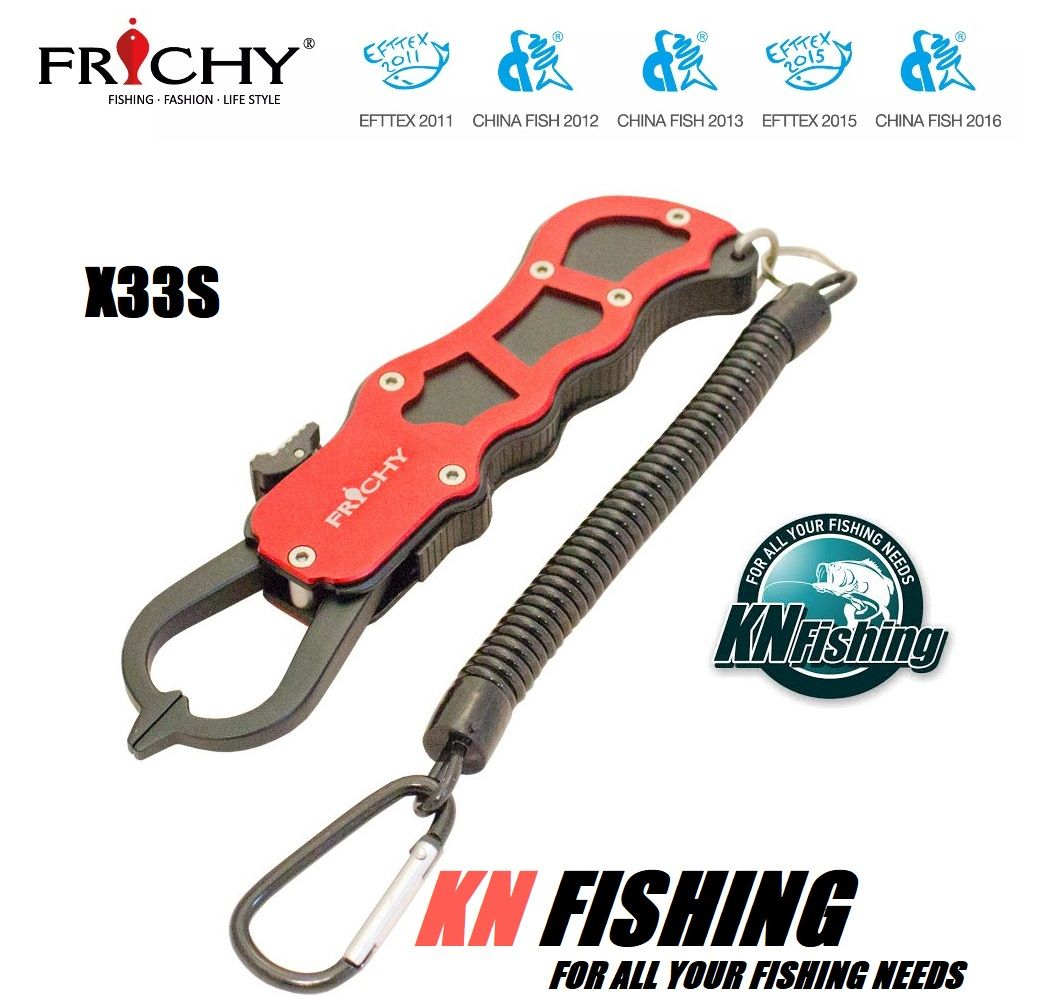 FRICHY X33-S ALUMINIUM FISH LIP GRIP TOOLS GRIPPER FISHING