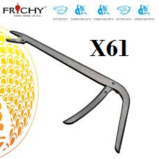 FRICHY X61 STAINLESS STEEL HOOK REMOVER WITH LUMO HANDLE HIGH CARBON