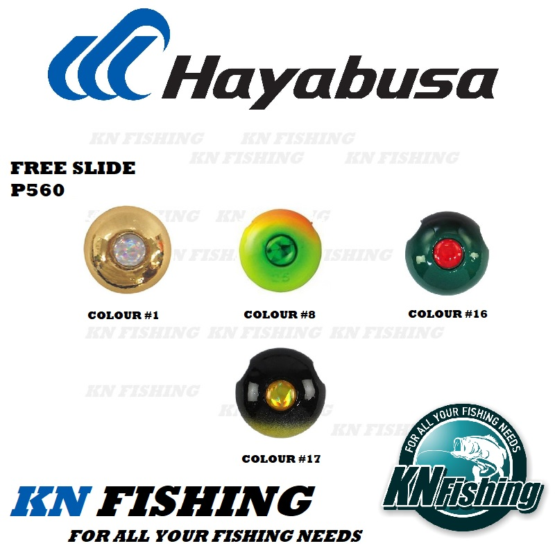 HAYABUSA FREE SLIDE REPLACEMENT HEADS 93G AND 120G P560