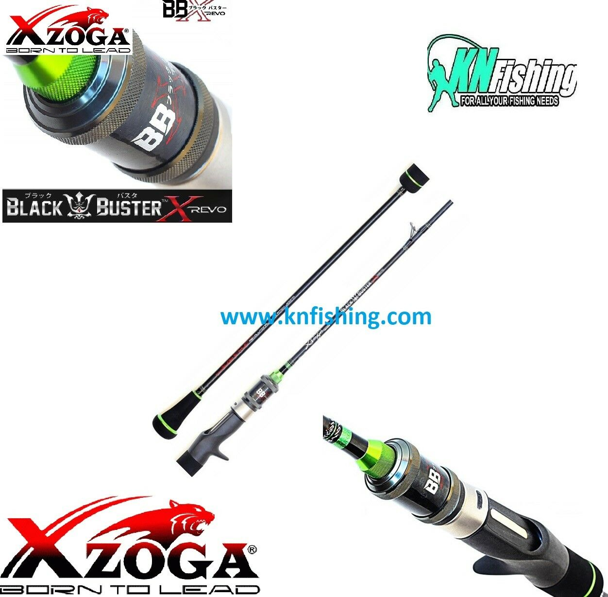XZOGA BLACK BUSTER REVO BBX SFC-6634 SLOW JIGGING ROD 300G