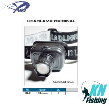 YUKI HEADLAMP ORIGINAL LINTERNA FRONTAL LED YUKI FOCO
