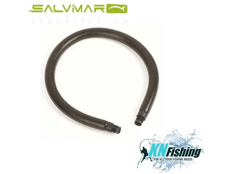 SALVIMAR CIRCULAR RUBBER 13 14mm BLACK 50CM
