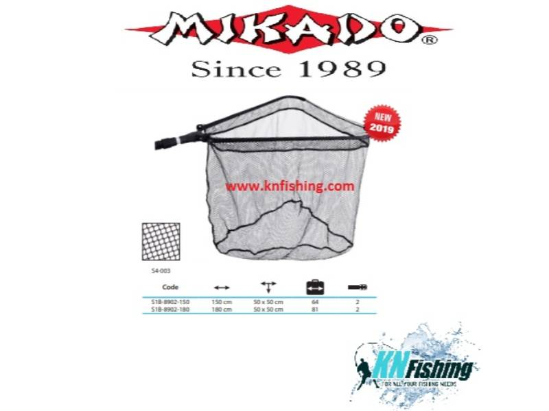 MIKADO LANDING NET FOR FISHING 1.80m