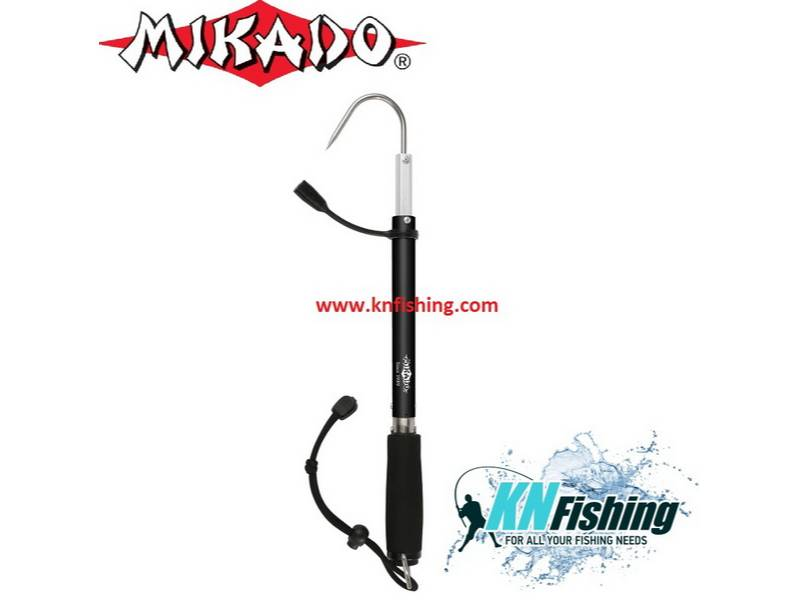 MIKADO PORTABLE GAFF WITH WEIGHT SCALE UP TO 18KG