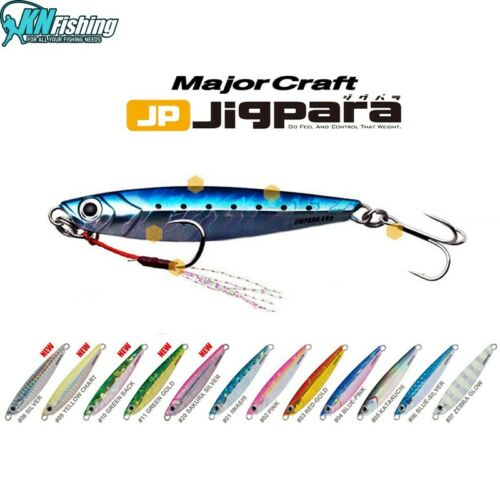 MAJOR CRAFT JIGPARA SHORE JIGGING BOAT 20GR 30GR SEAFISHING