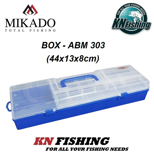 MIKADO ABM 303 (44x13x8cm) BOX BLUE AND GREEN