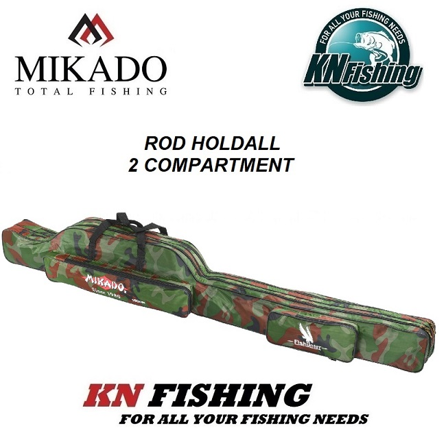 MIKADO ROD HOLDALL 2 COMPARTMENT CAMOUFLAGE 100cm - 160cm