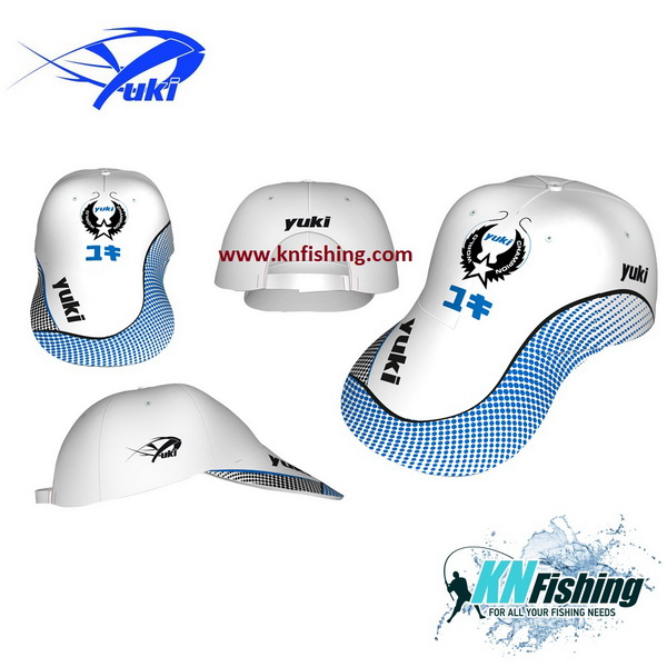 YUKI WHITE CAP FISHING CLOTHING