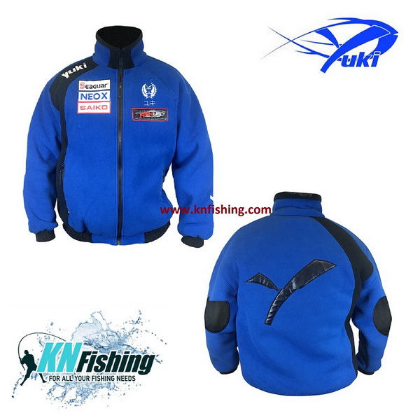 YUKI DOUBLE POLAR FLEECE FISHING CLOTHING