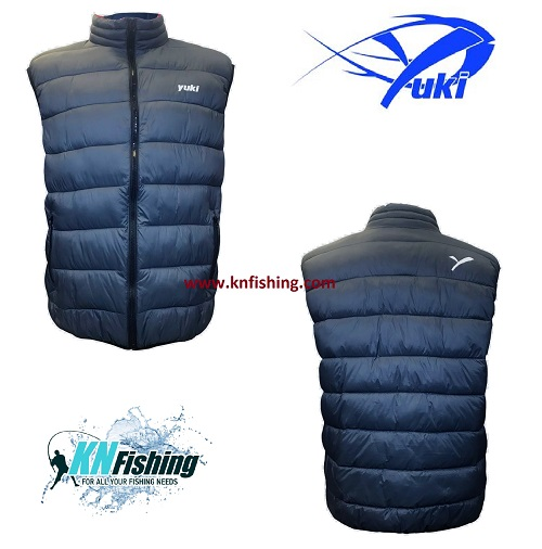 YUKI EQ16 WAISTCOAT FISHING JACKET CLOTHING
